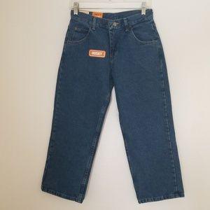 Wrangler Boy's Husky Loose Jeans Sz.10 IRREGULAR